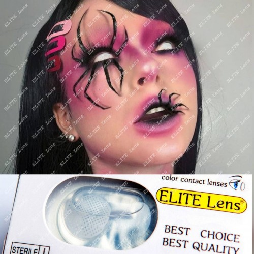 Слепые контактные линзы «Сетка»