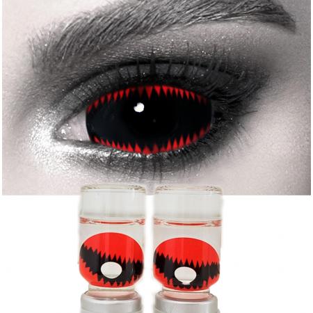 Склеральные линзы ELITE Lens «Энимал Рэд»