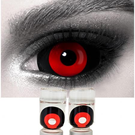 Склеральные линзы ELITE Lens «Хоррор рэд»