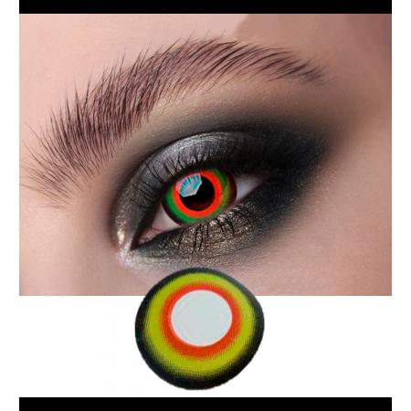 Цветные линзы ELITE Lens модель «Гоблин» мини-склеры