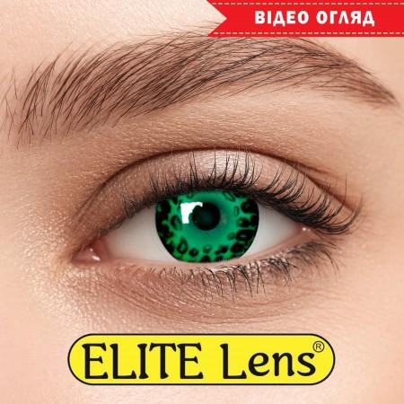 Цветные линзы ELITE Lens модель «Грин Лео»