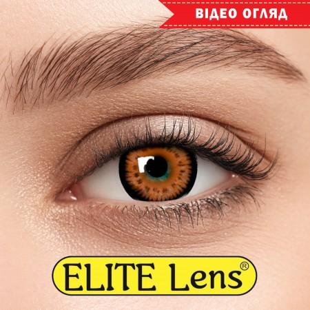 Цветные линзы ELITE Lens «Кукольные Карие»