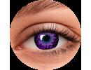 Фиолетовые цветные линзы
