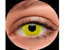 Желтые цветные линзы