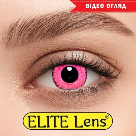 Цветные линзы ELITE Lens модель  «Пинк»