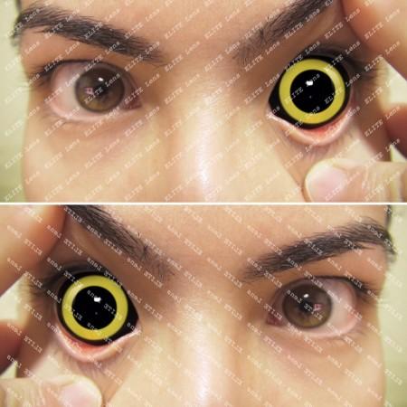 Склеральные линзы ELITE Lens «Хоррор елоу»